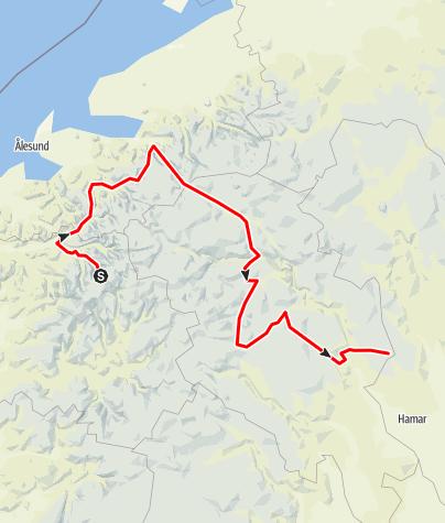 Map / Andreas och Kalle Norge dag 4