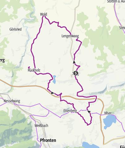 Karte / Emmentaler Radweg Schlosspark