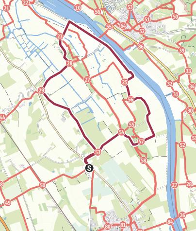 Map / Groeningen Vortum 10,1 km