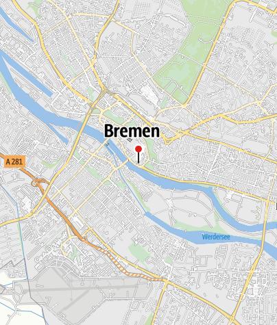 Karte / Mittelalter-Altstadt Schnoor