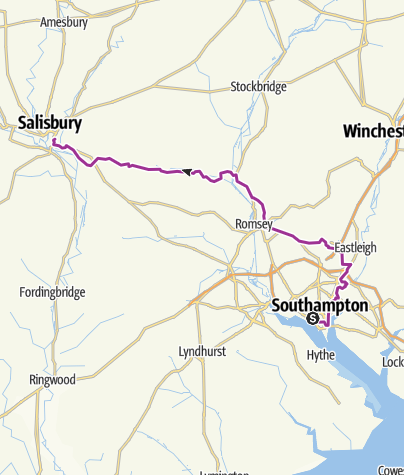 Map / 9) 27-07 Southampton / Salisbury