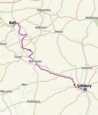 Map / 10) 28-07 Salisbury / Bath