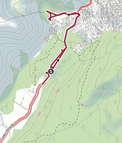 Map / Refugio Shangri-la