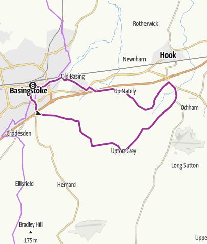 Map / Odiham Loop