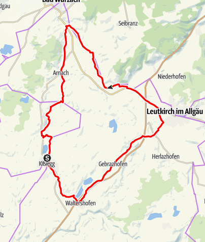 Karte / Drei-Städte-Tour - Tour 9