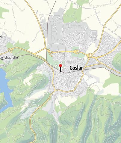 Goslar Karte.Bahnhof Goslar Bahnhof Outdooractive Com