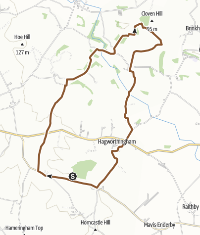 Map / Route 9 Apr 2013 00:19:27snipe dales