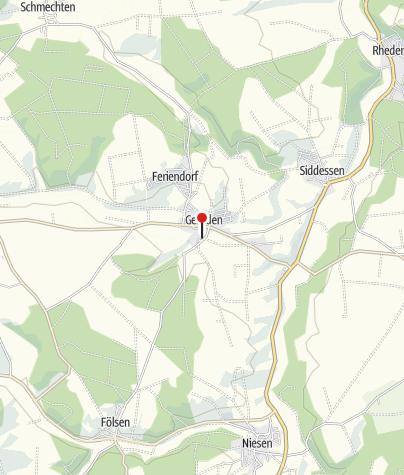 Karte / Ehemaliges Benediktinerinnenkloster Brakel-Gehrden
