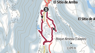 Mapa / Barranco de Fataga