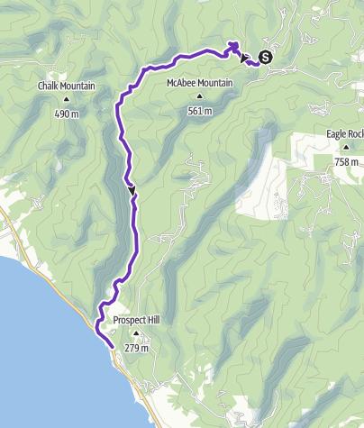 Map / Clambake Big Basin - Waddell Beach