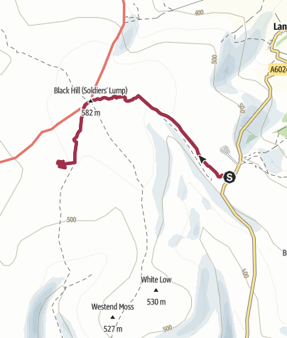 Map / 1stHV Monthly Check Route