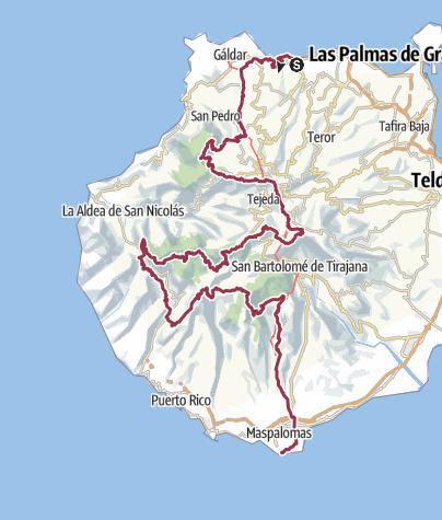 Map / Gran Canaria N2S