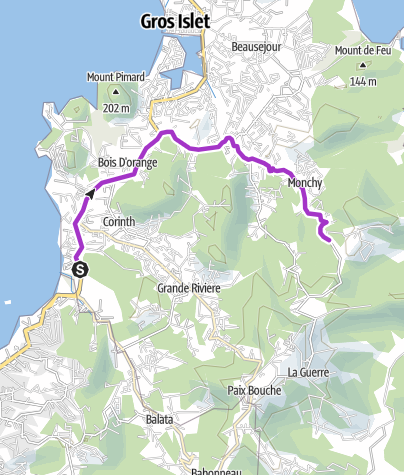 Map / Saint Lucia 2