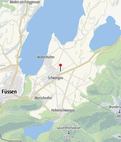 Karte / Akku-Ladestation für E-Bikes bei der Metzgerei Gerster