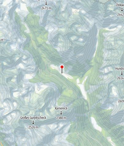 Karte / Grangler Hütte