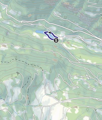 Map / Lago di Ponte Murandin 1