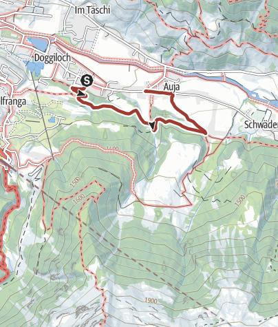 Map / Klosters Dwarf Trail