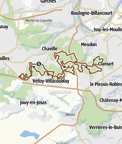 Map / Clamart-40km