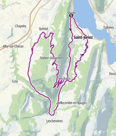 Map / 74 # Annecy x Semnoz