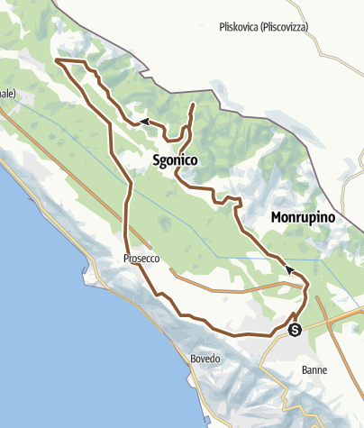 Map / Tour Carsico