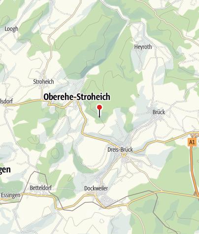Kaart / Das vulkanische Erbe der Eifel