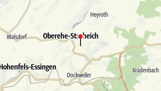 Karte / Das vulkanische Erbe der Eifel