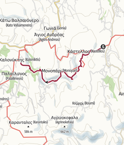 Map / ARMENOI - KALONYXTIS