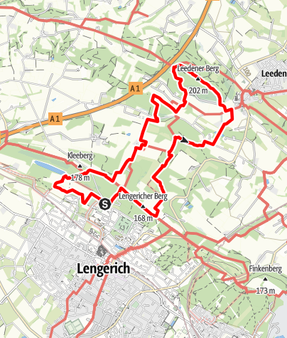 Karte / Hermannshöhen Tourentipp 05: Teutoschleife Canyon Blick