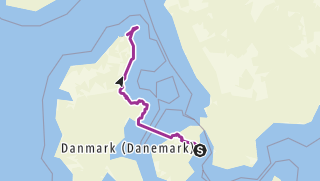 Carte / Danemarke tour 1