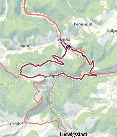 Map / Probstzella-Loquitzgrund