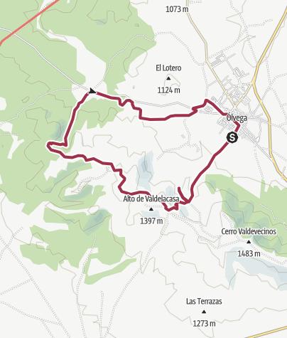 Map / PRC-SO 81 Ruta de los Fósiles de Ólvega