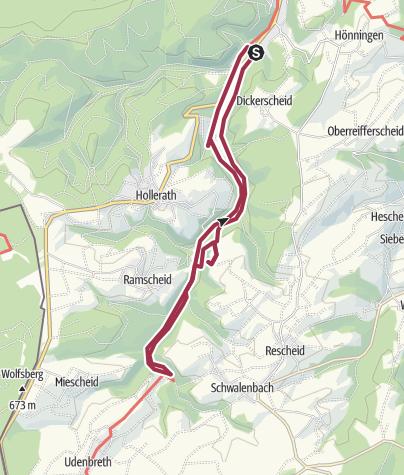 Map / Eisvogelwanderweg