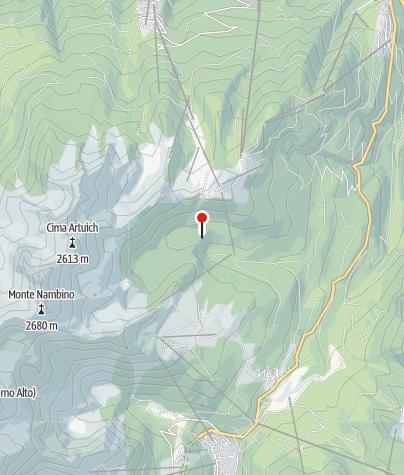 Karte / Rifugio Lago Malghette
