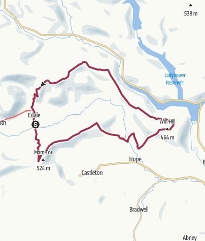 Map / Edale High Level Circuit