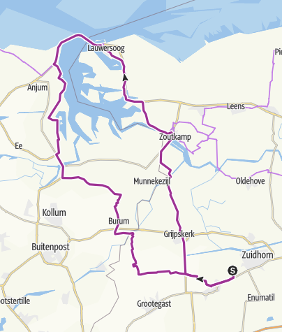 Map / Rondje Lauwersmeer, 27 apr. 2015 10:45:26