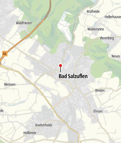 Kaart / Bad Salzuflen