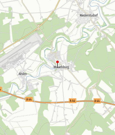 Kaart / Streekmuseum Wewelsburg