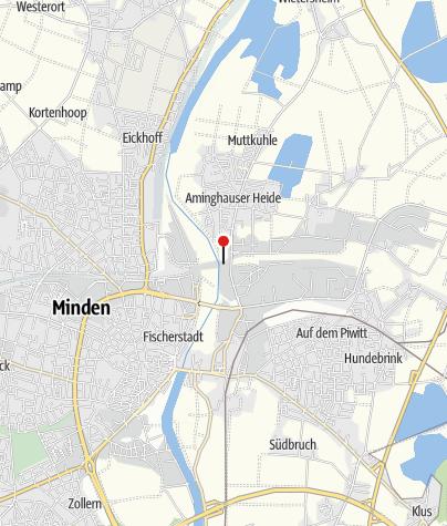 Karte / Wasserstraßenkreuz, Minden