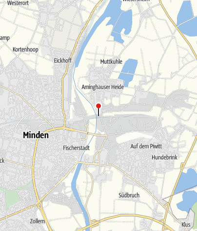 Kaart / Kanaalbrug Minden