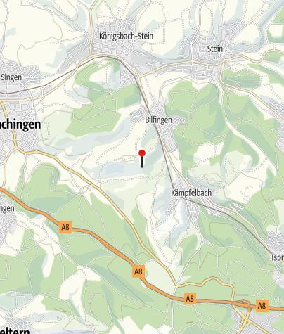 Karte / Obst- und Gartenbauverein Bilfingen. 1.Pausenplatz