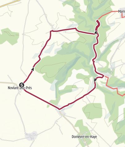 Map / petite suisse lorraine