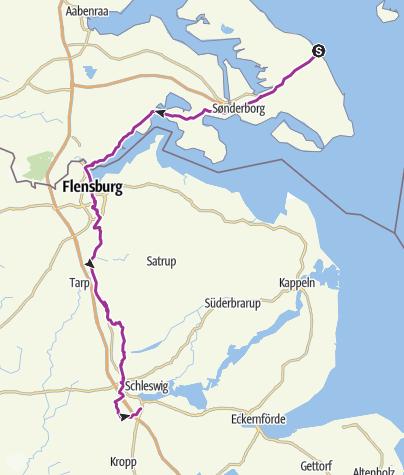 Map / D Bøjden-Schleswig
