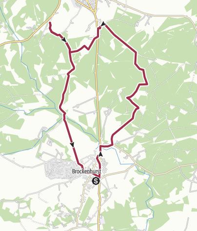 Map / Brockenhurst Circular