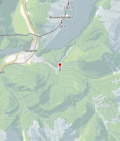 Karte / Scharnitzer Alm