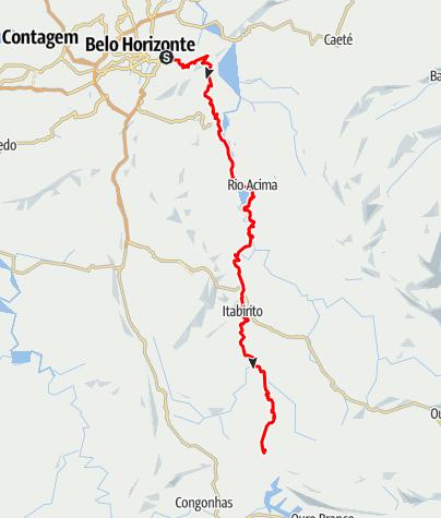 Map / 2015 BH a Miguel Burnier
