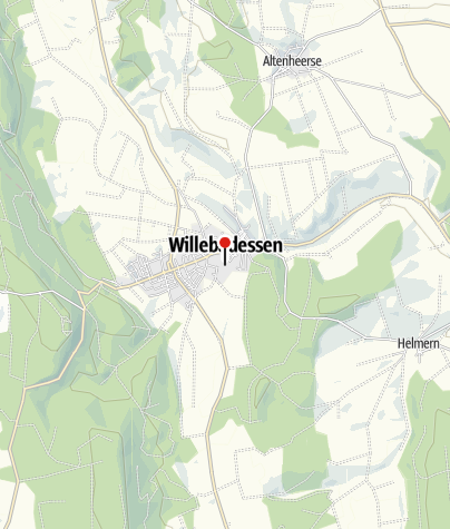 Kaart / Ehemaliges Benediktinerinnenkloster Willebadessen