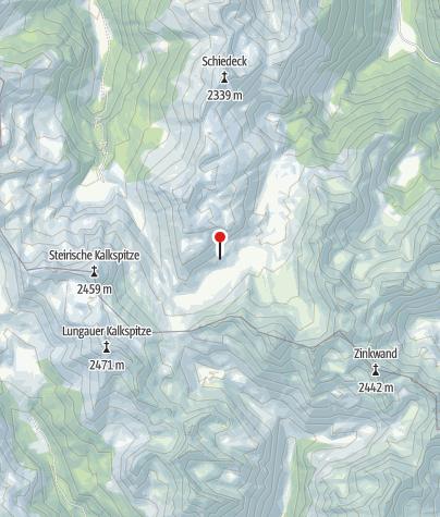 Karte / Ignaz-Mattis-Hütte