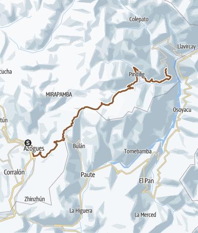 Map / Azogues - Zhall
