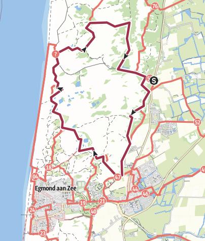 Map / Duinen van Six