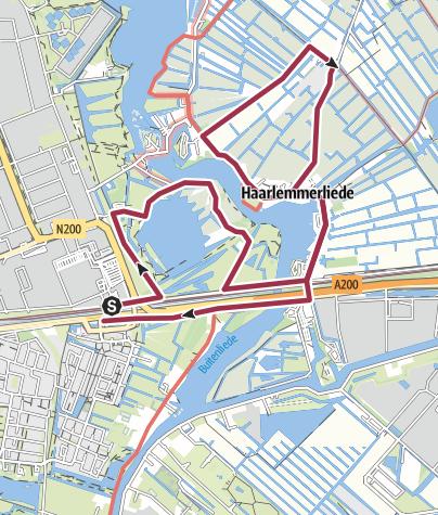 Map / Rond de Liede